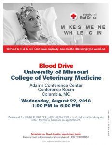 SAVMA Blood Drive @ Adams Conference Center