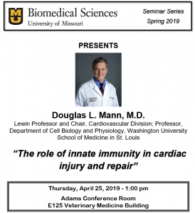 Seminar - Douglas Mann, M.D. @ Adams Conference Center