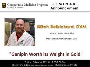 Seminar - Mitch Bellrichard, DVM @ Discovery Ridge S101
