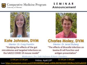 Seminar - Kate Johnson, DVM @ Zoom