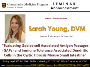 Seminar - Sarah Young, DVM @ Zoom