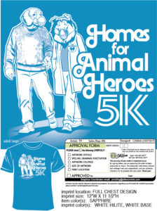 Homes for Animal Heroes 5k @ Grindstone Nature Area